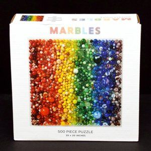Marbles Puzzle Multi-Colored 500 Pieces 20 x 20 in